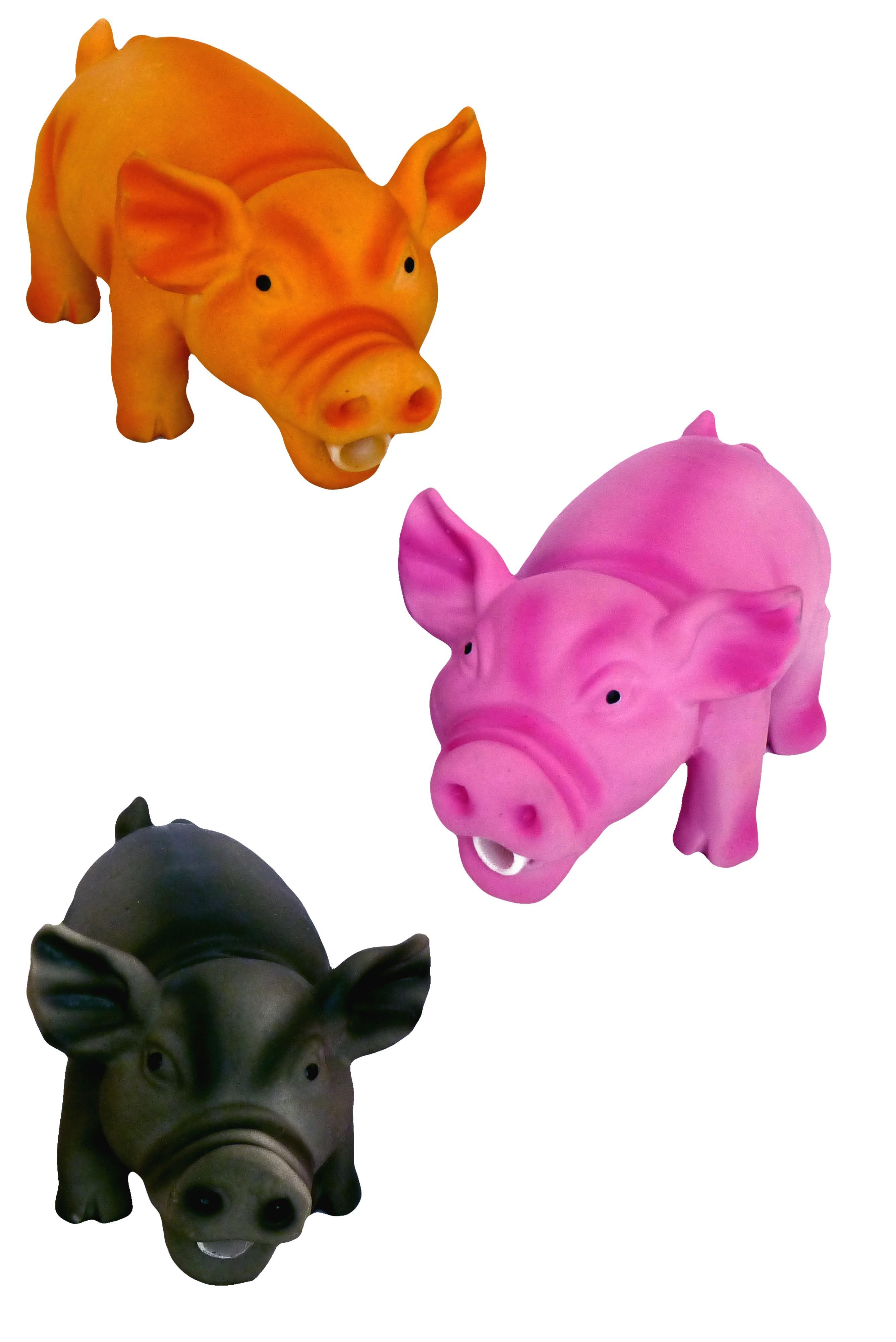 Latex Cochon pour chien
