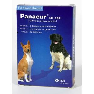 Panacur 500 Vermifuge pour moyen et grand chien
