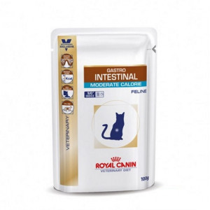 Royal Canin Veterinary Diet Gastro Intestinal Moderate Calorie Sachets pour chat