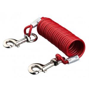 Trixie câble d'attache en spirale 5 mètres pour chien