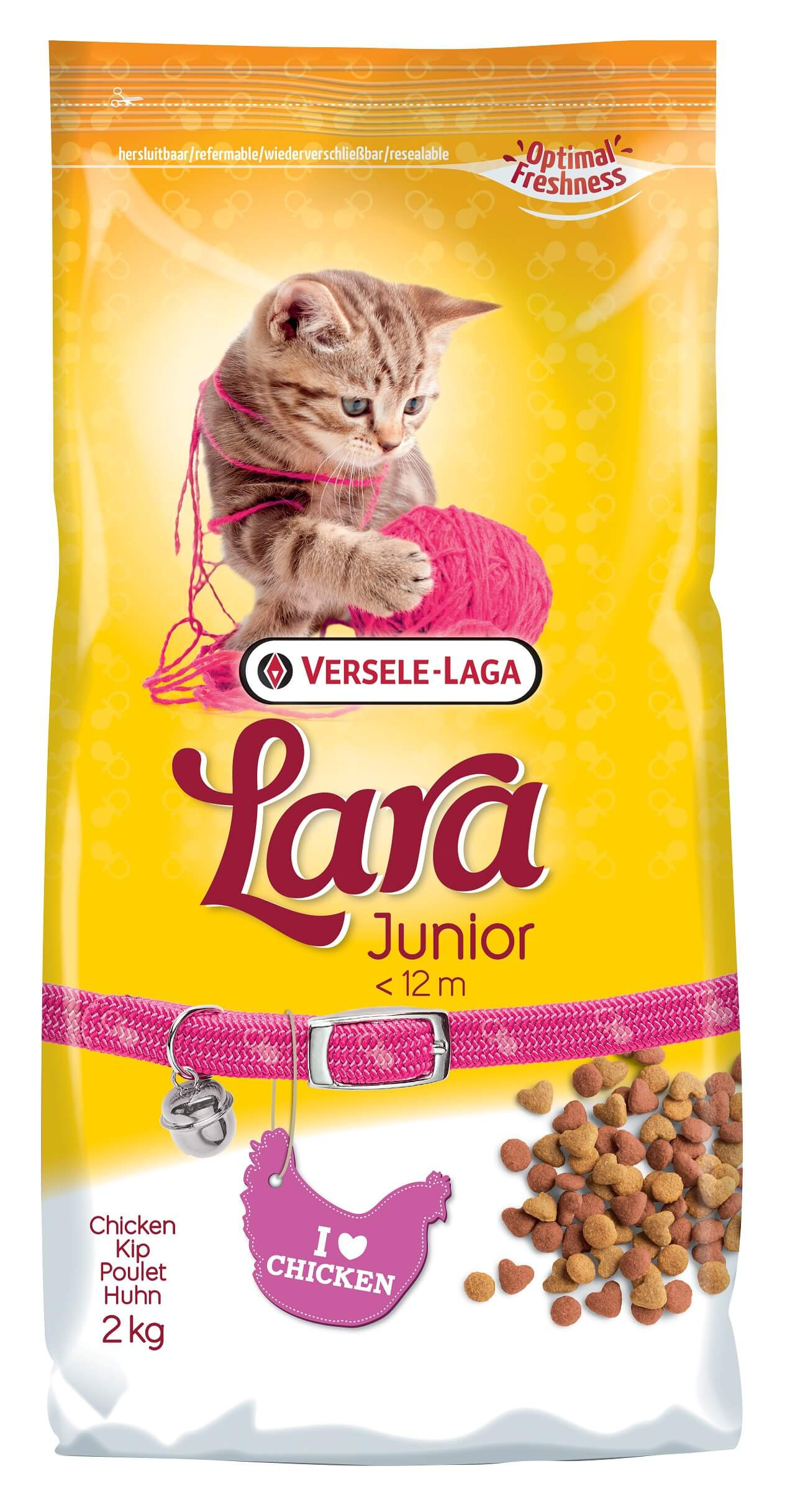 Versele-Laga Lara Junior Poulet pour chat