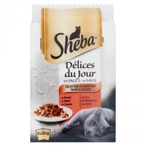 Sheba Délices du Jour Sélection du Boucher pour chat