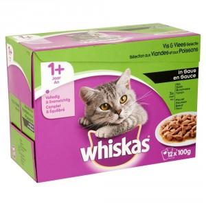 Whiskas Sélection aux Viandes et aux Poissons en sauce