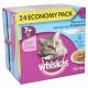 Whiskas 7+ Economy Pack  Sélection aux Poissons pour chat