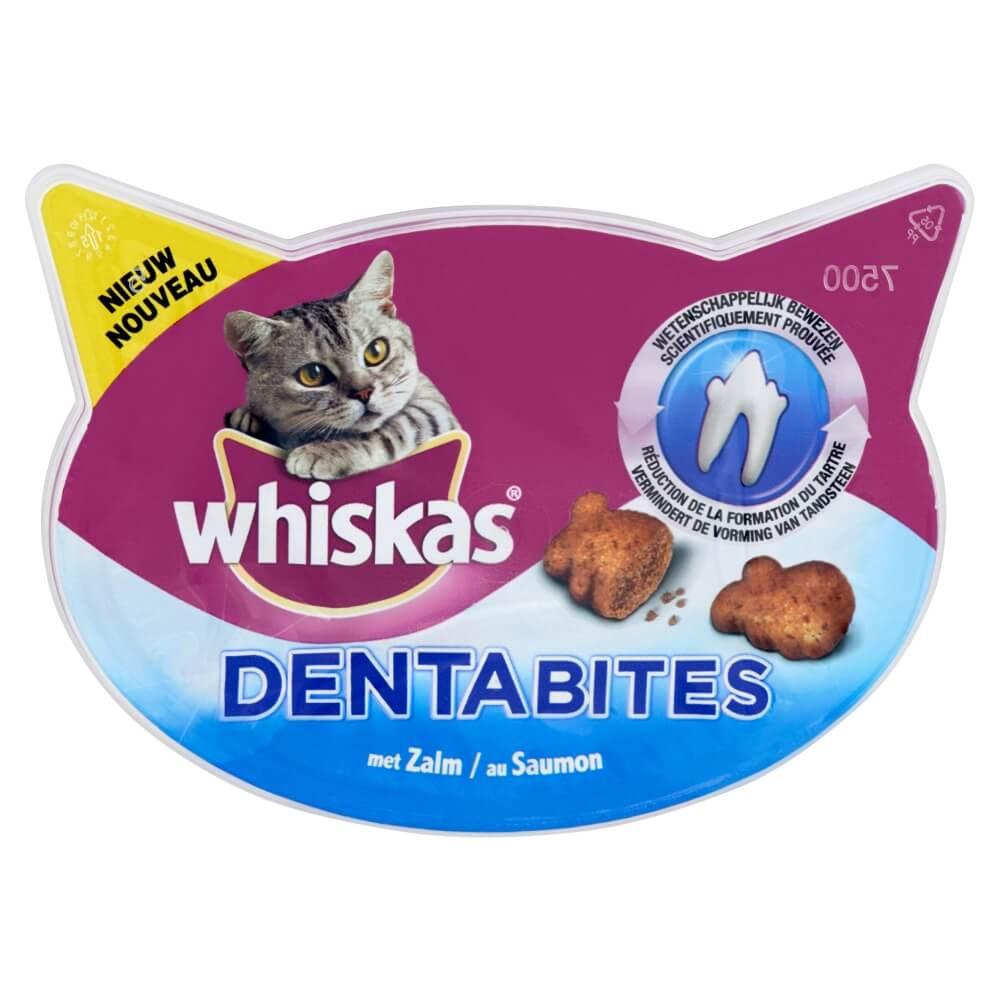 Whiskas Dentabites au Saumon pour chat