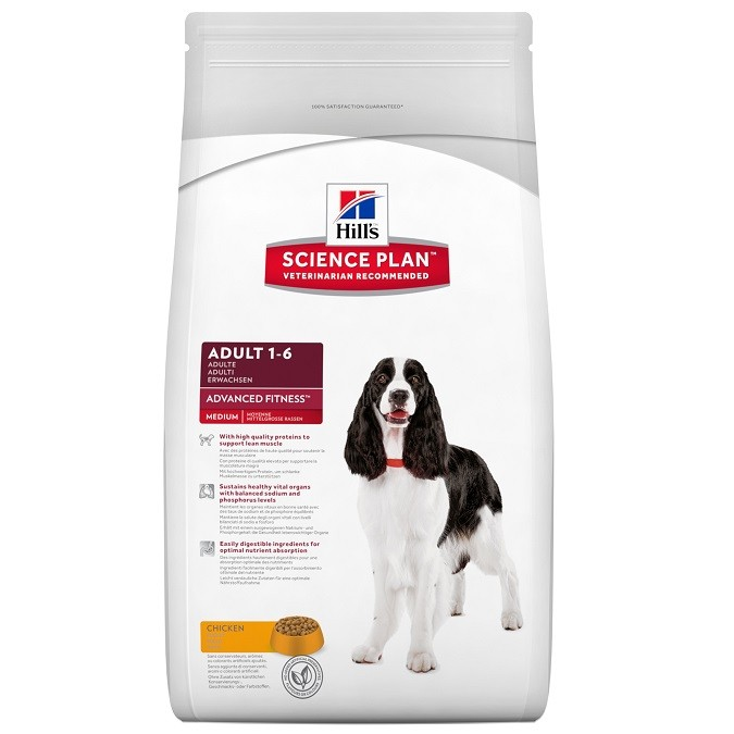 Hill's Advanced Fitness Adult Medium Breed poulet pour chien