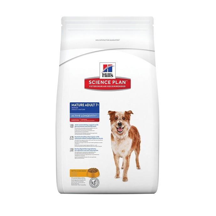 Hill's Mature/Senior Medium breed poulet pour chien