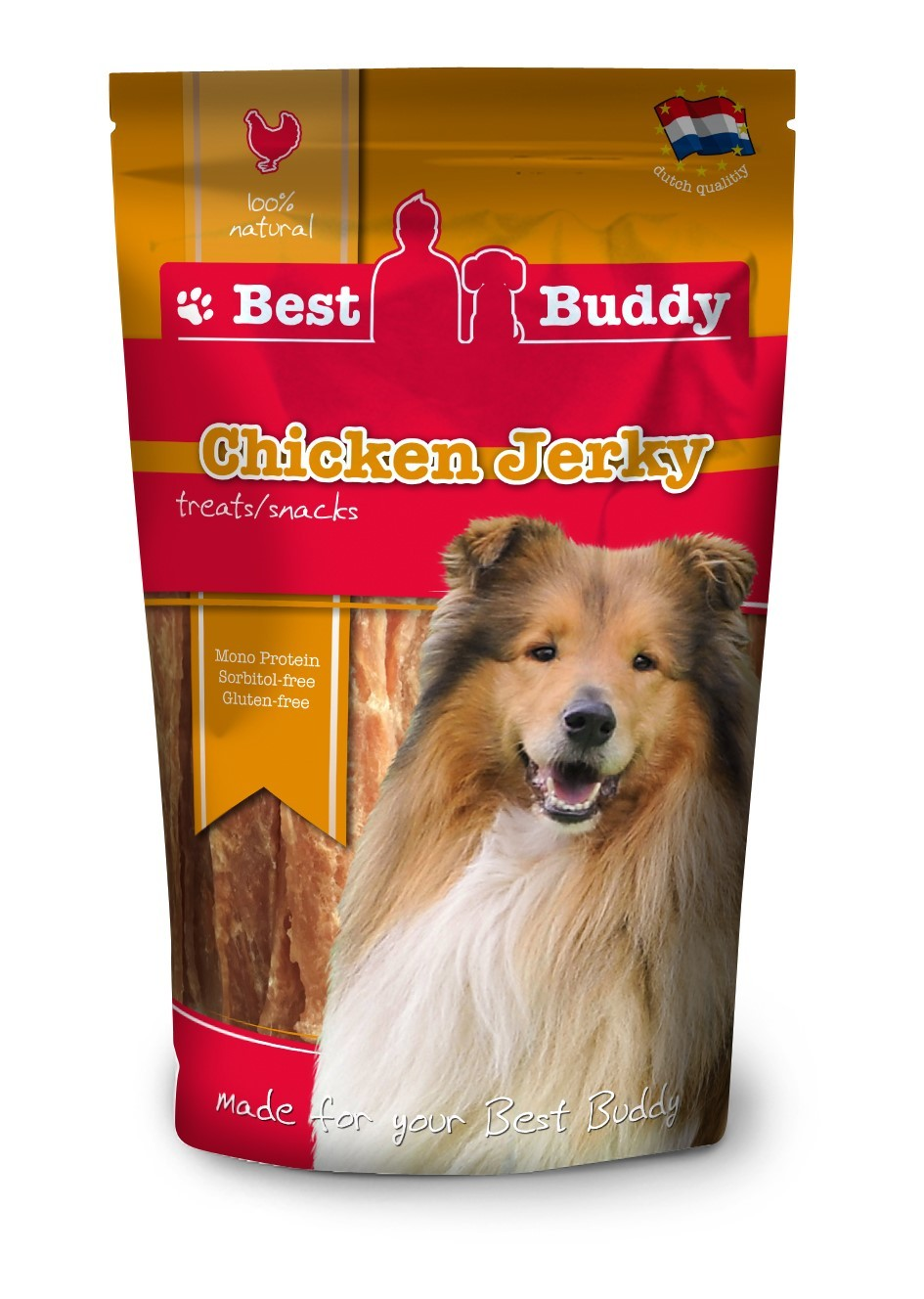 Best Buddy Chicken Jerky Friandise pour Chien