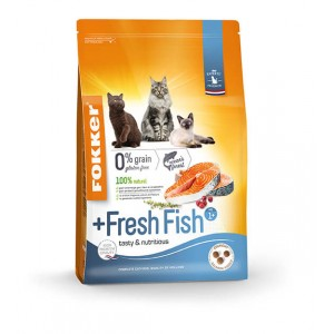 Fokker Adult + Fresh Fish pour chat