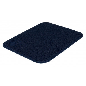 Trixie Tapis PVC bleu foncé pour bac à litière