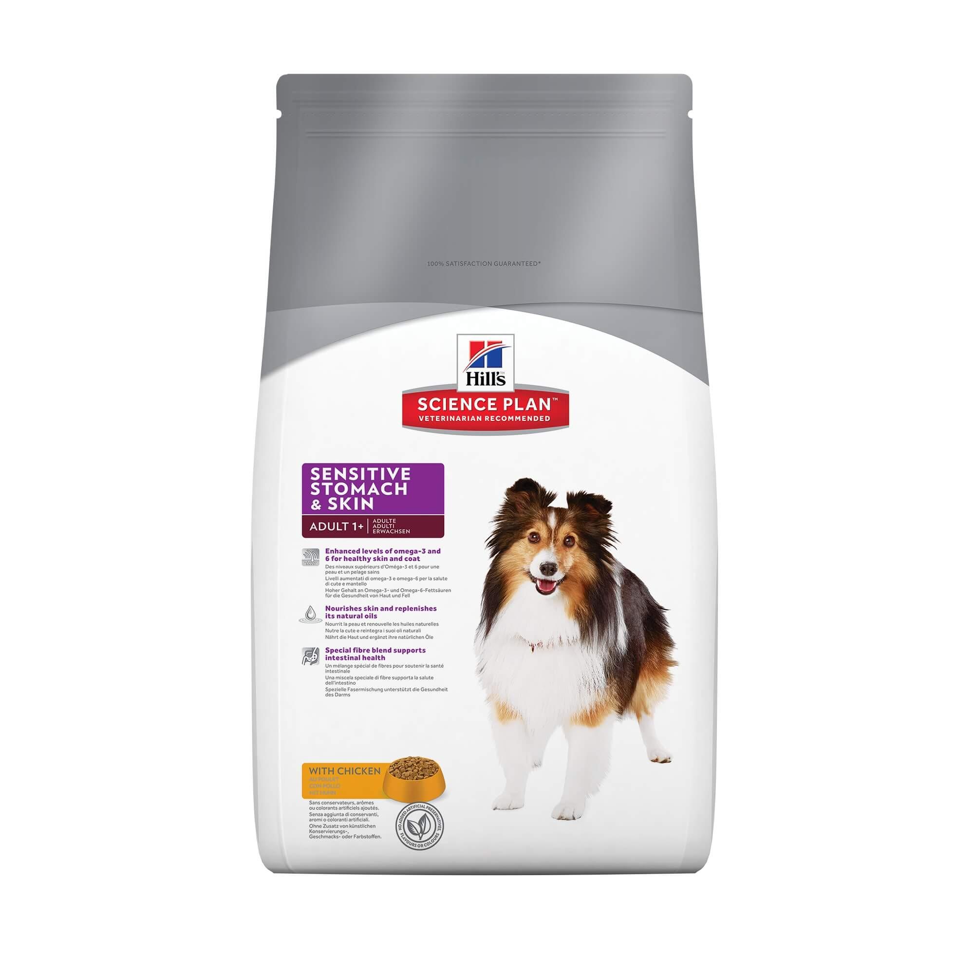 Hill's Sensitive Stomach & Skin Adult poulet pour chien
