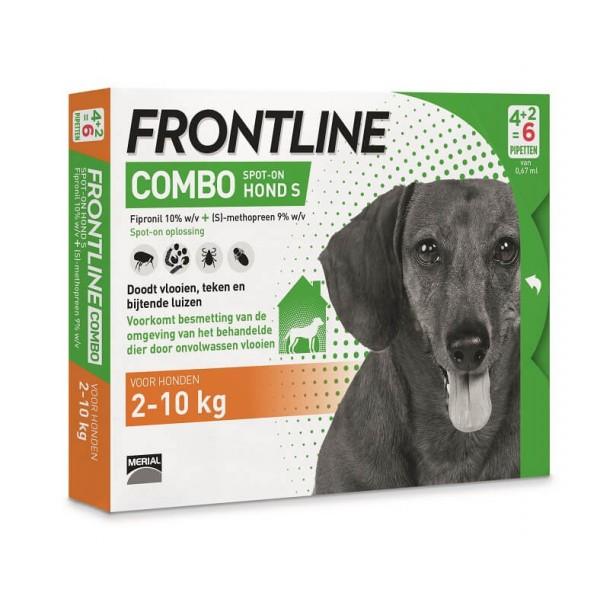 Pipettes frontline anti puces pour petit chien - Frontline combo chat pas cher ...