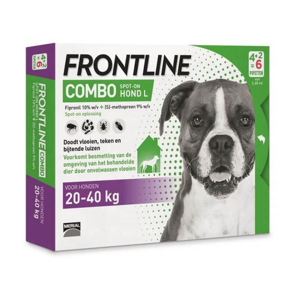 Pipettes frontline anti puces pour grand chien - Frontline combo chat pas cher ...