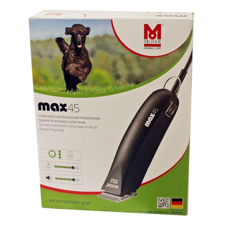 Tondeuse Moser Max 45 pour Chien