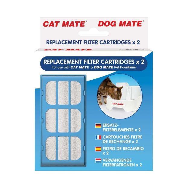 Cat Mate Filtres recharges pour chat