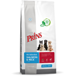 Prins Chien Fit Selection Saumon & Riz
