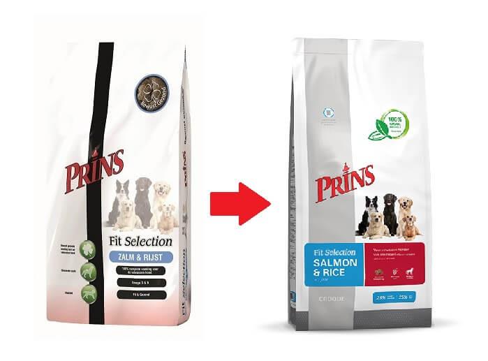 Prins Fit Selection Saumon & Riz pour chien