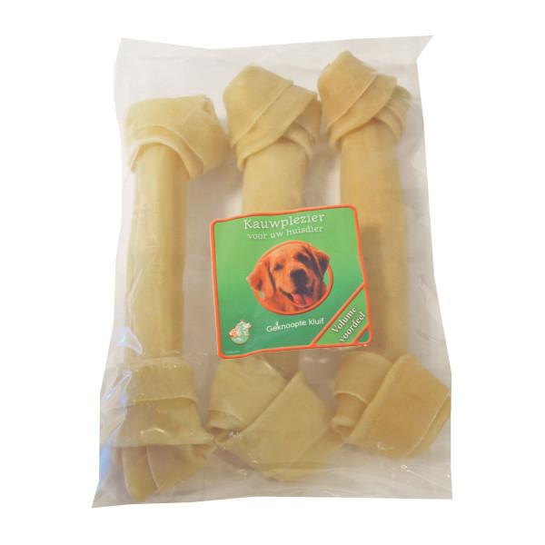 Os en peaux de buffle 25 cm pour chien
