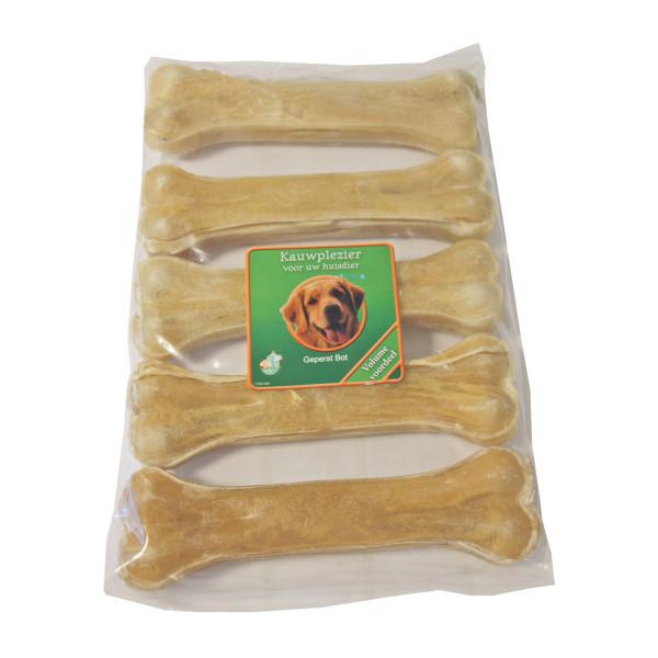 Os en peaux de buffle compressés 16cm pour chien