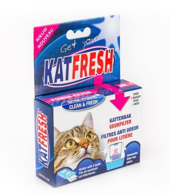 Katfresh Filtre Anti Odeur Litière