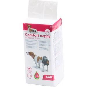 Savic Comfort Nappy Couches pour chiens 12 pièces