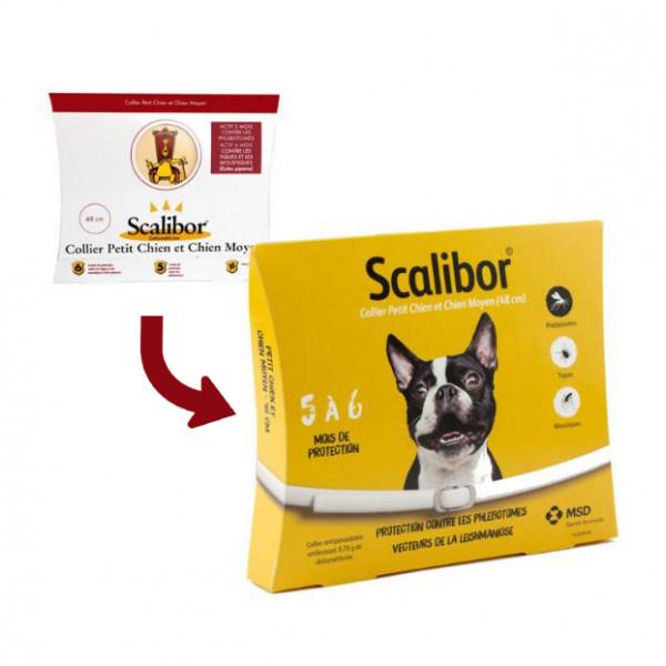 Collier scalibor pour chien