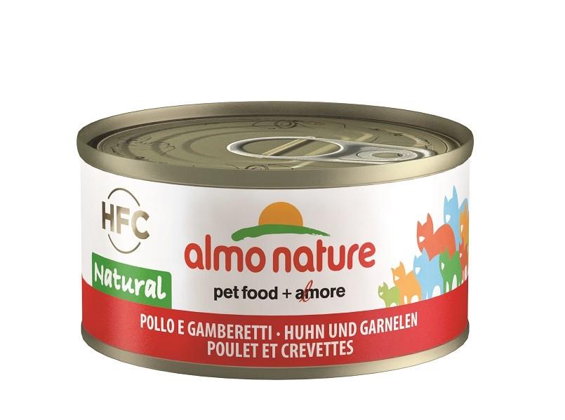 Almo Nature Poulet et Crevettes pour chat