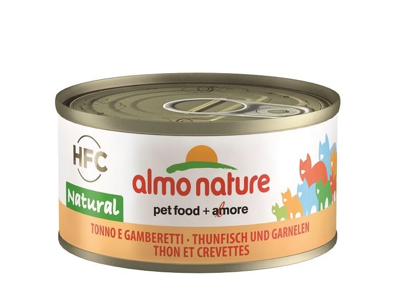 Almo Nature Thon et Crevettes pour chat