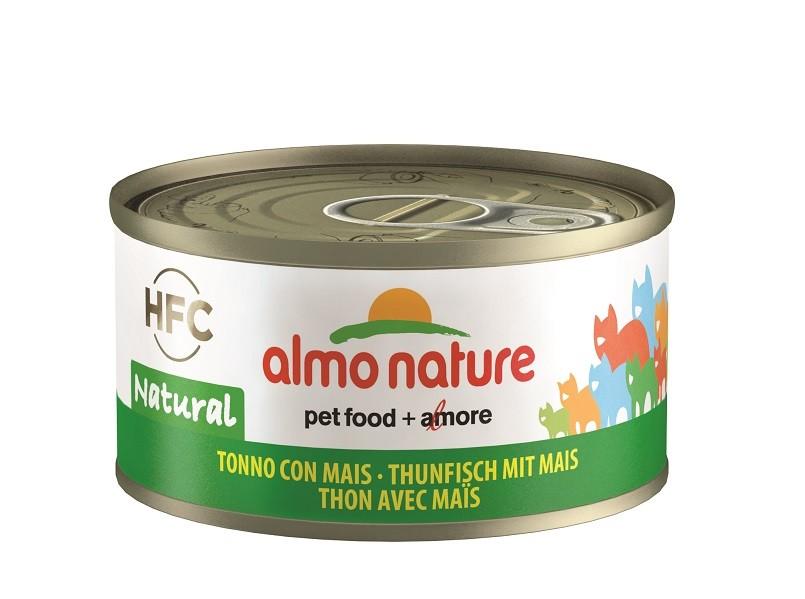 Almo Nature Thon et Maïs pour Chat  nr. 5033H