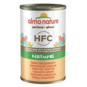 Almo Nature HFC pour chat Thon Crevettes 140g nr. 5092H