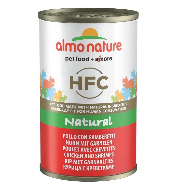 Almo Nature HFC pour chat Poulet Crevettes 140g nr. 5111H