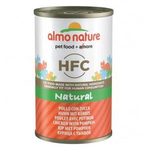 Almo Nature HFC Poulet Potiron 140g pour chat