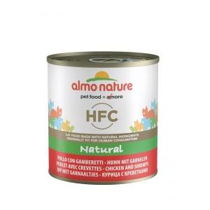 Almo Nature HFC Natural Poulet Crevettes 280g pour chat