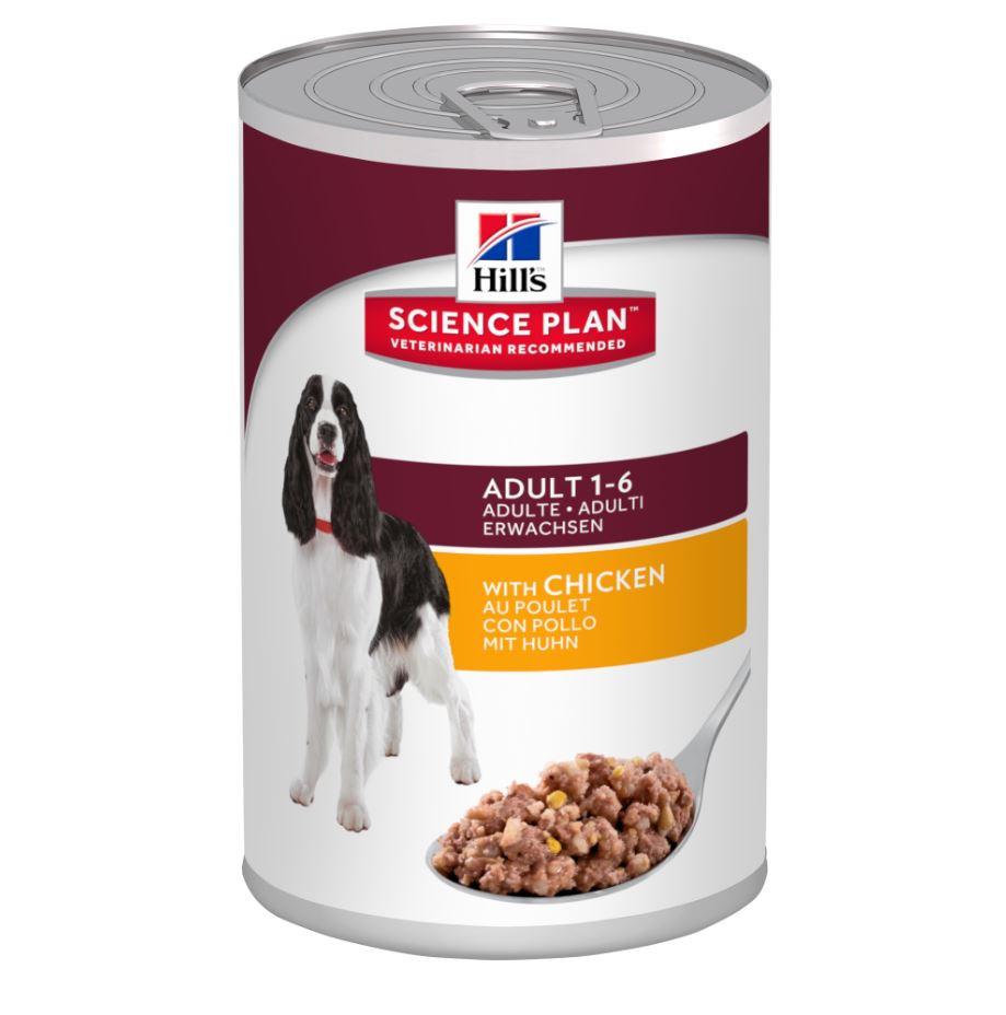 Hill's Adult boîte poulet pour chien