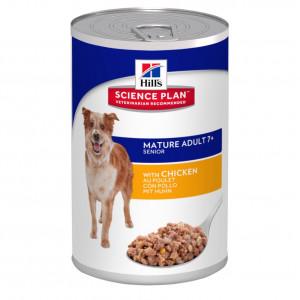 Hill's Mature/Senior boîte poulet pour chien