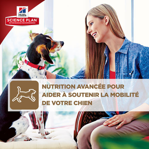 Hill's Mobility Adult Medium Breed poulet pour chien