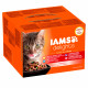 Iams Delights Collection Terres & Mers 24 x 85g pour chat