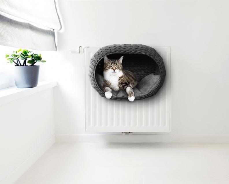 Ebi Radiator bed sunrise noir pour chat