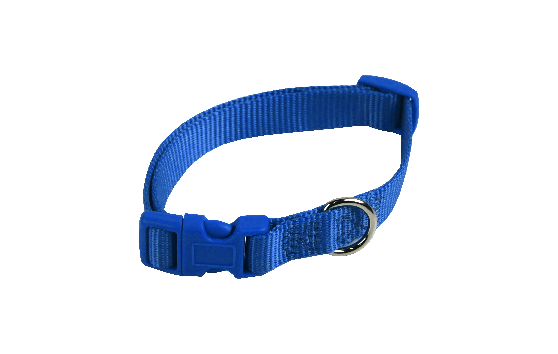 Nylon Halsband Blauw voor honden