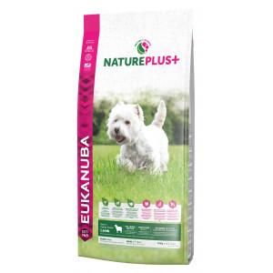 Eukanuba NaturePlus Adult Small Breed à l'agneau frais pour chien