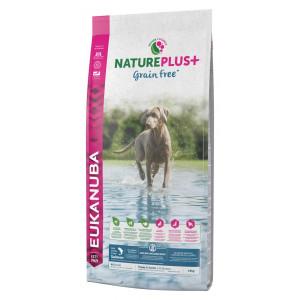 Eukanuba NaturePlus+  Puppy Sans Céréales au saumon frais pour chien