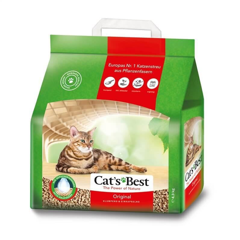 Cats Best Oko Plus Litière 4,3 kg pour chat