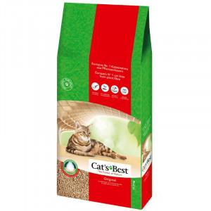 Cats Best Oko Plus Litière 17,2 kg pour chat