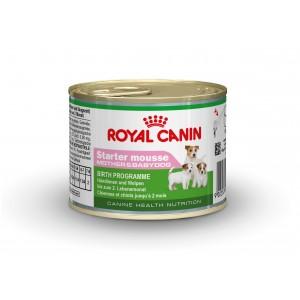 Royal Canin Starter Mousse Mother & Babydog 195 gr blik hond
