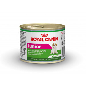 Royal Canin Mini Junior Wet 195 gr blik hondenvoer