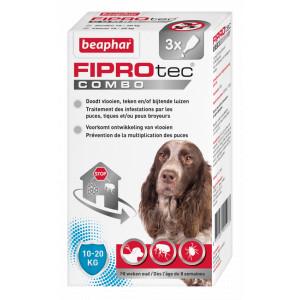 Beaphar FiproTec Combo hond 10-20 kg Anti-Vlo