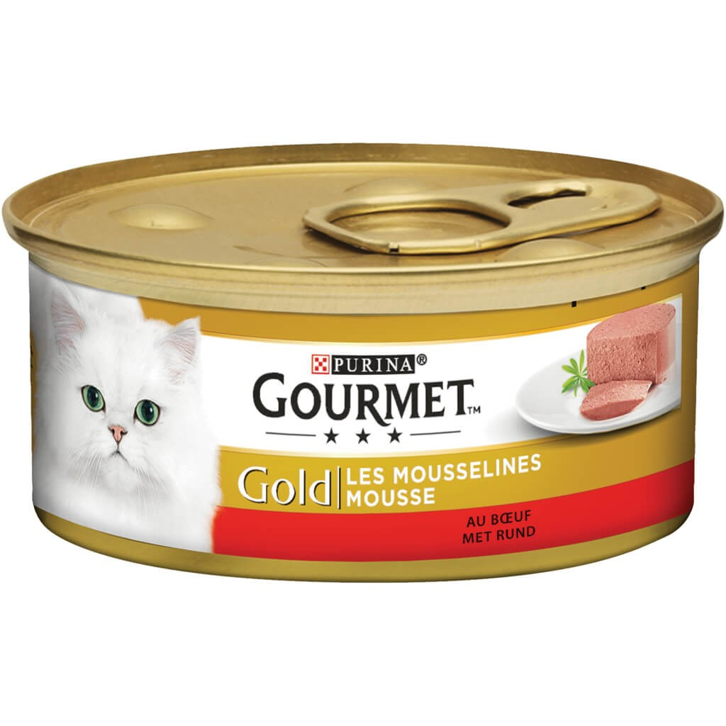 Gourmet Gold Chat Mousse de Boeuf
