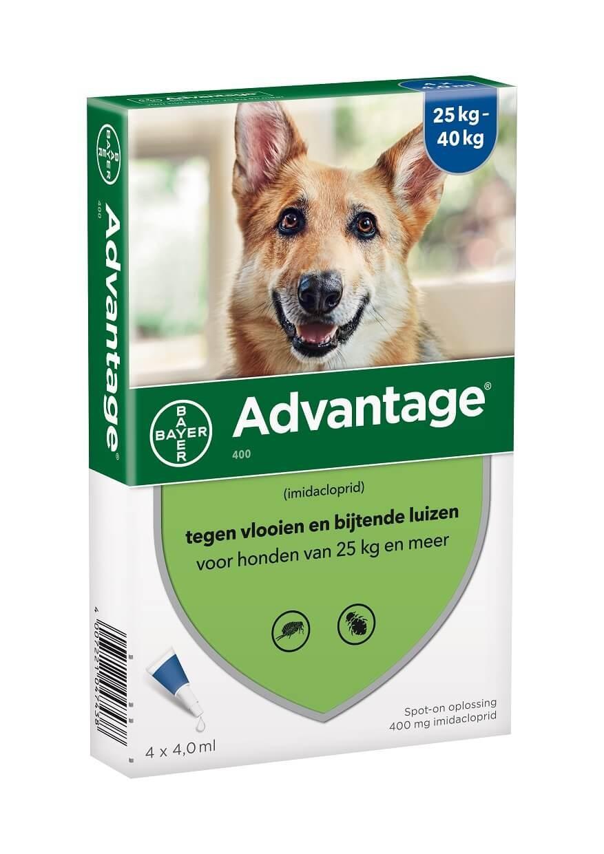 Advantage Nr. 400, vlooienmiddel voor honden