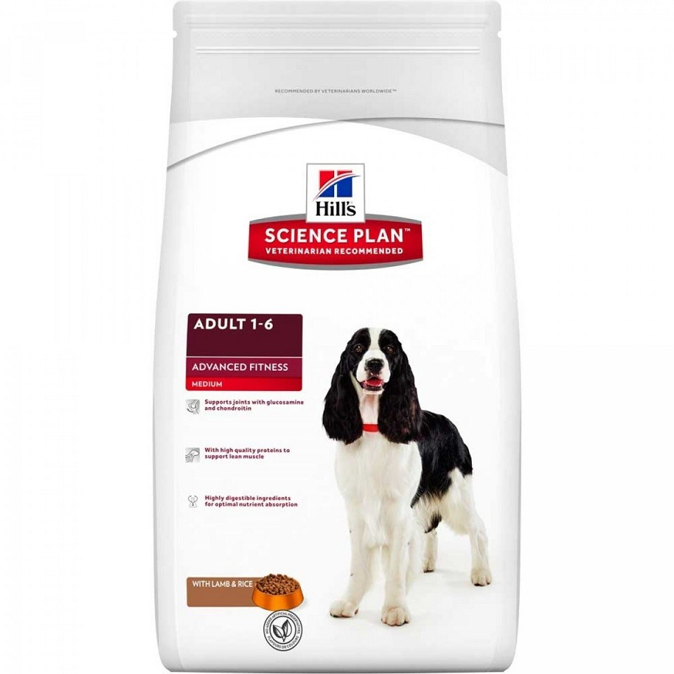 Hill's Chien Advanced Fitness Adulte, à l'agneau