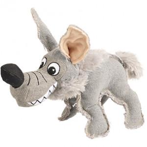 Canvas Hyena met Piep Hondenspeelgoed